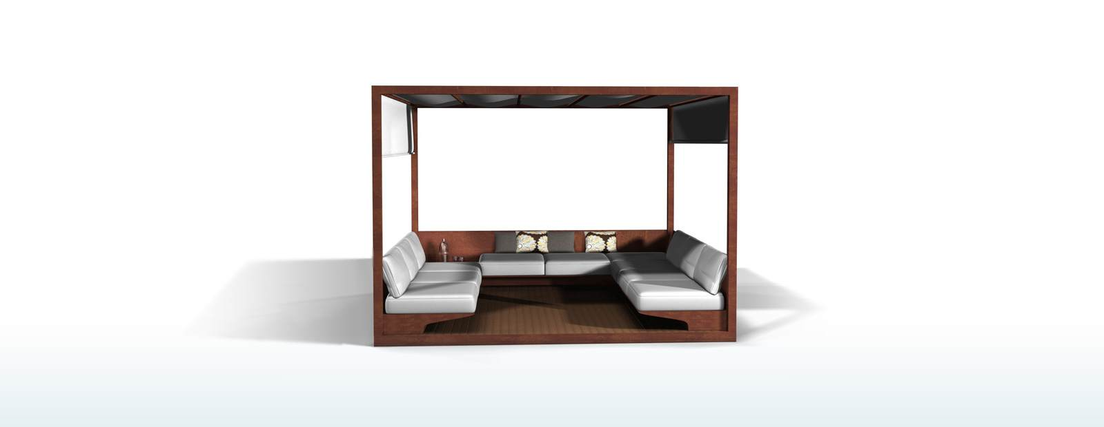 ARIA23 Outdoor Collection : homeMarconatoZappagazebo from aria23.com size 1600 x 620 jpeg 25kB